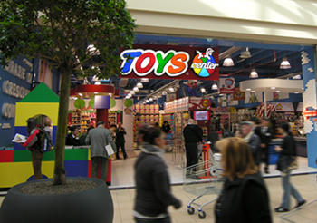 Toys Center – Nuova sede, nuovo look
