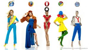 e se i browser web fossero… alla moda