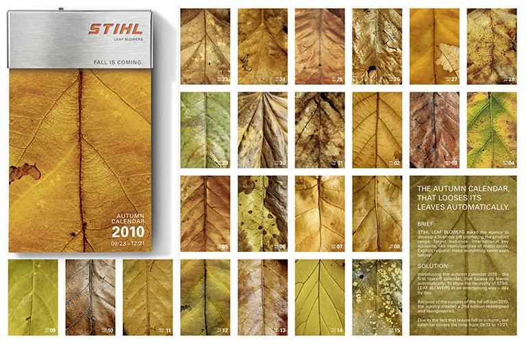 L'autunno ispira la creatività